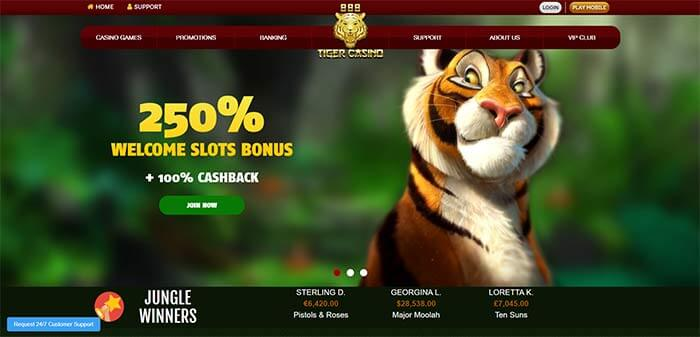 888 Tiger - Rival Online Pokies