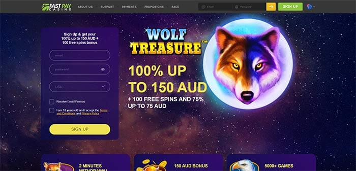 Fast Pay AUD Online Casino