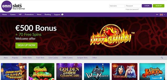 Omni Slots Casino Aud Online Casino 10 Bonus Casino