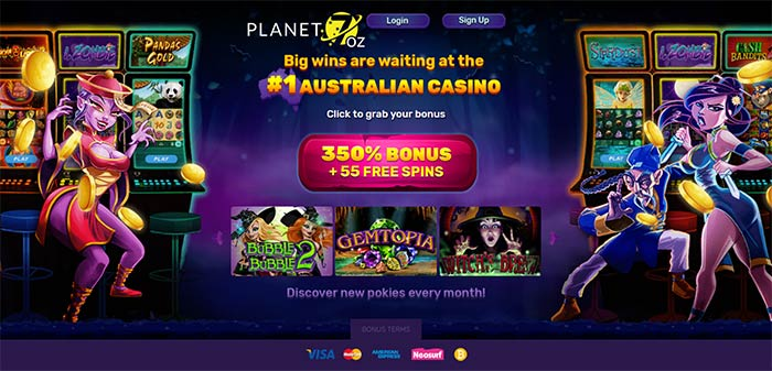 Planet7 Oz Online Casino