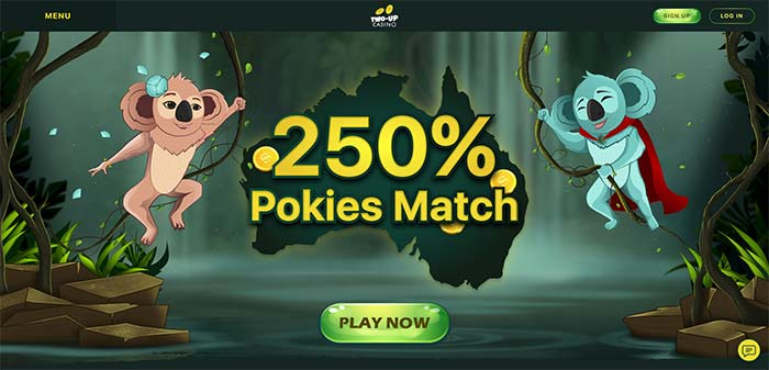 Two Up AUD Online Casino